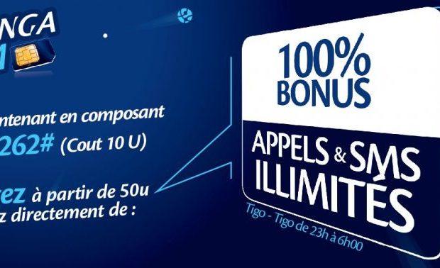 Tigo Tembesili Tigo RDC : SIM Mbinga – 100% Bonus sur les Appels, SMS & Internet