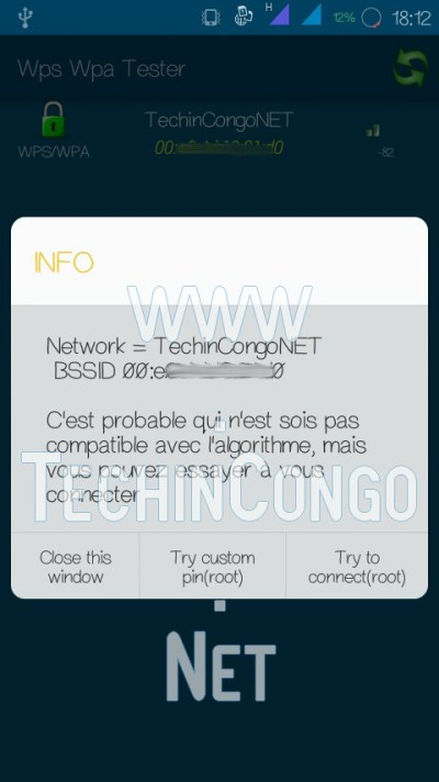 WPS WPA Tester Try To connect Comment Pirater un WiFi sécurisé sur Android (avec /sans Root)