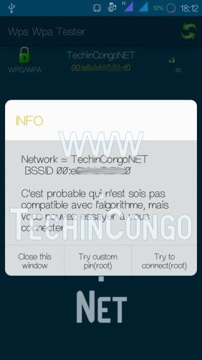 WPS WPA Tester Try To connect Comment Pirater un WiFi sécurisé sur Android (avec /sans Root)