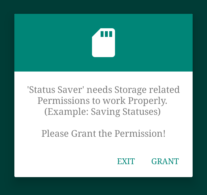 Permissions Status Saver Comment Télécharger un Statut WhatsApp (2 Méthodes) Android & iPhone