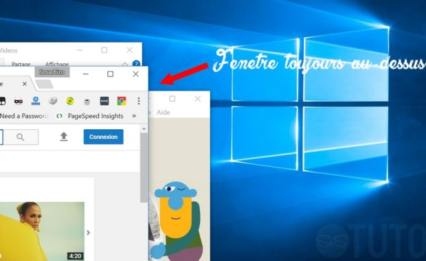 Fenetre toujours au premier plan Windows Télécharger Always On Top – fenêtre toujours au premier plan
