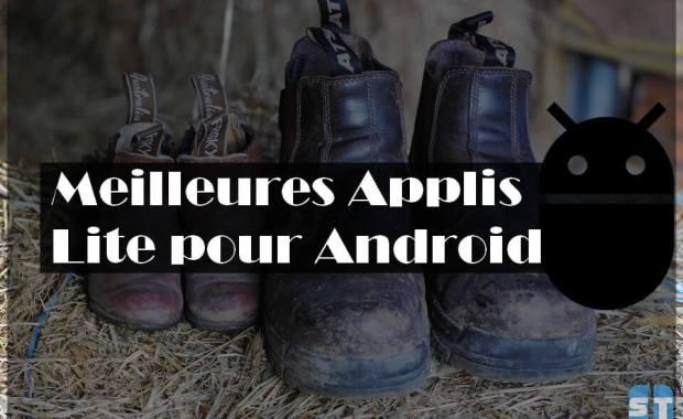 Applications Android Lite 10 applications « lite » Android pour économiser l'espace de stockage et forfait mobile