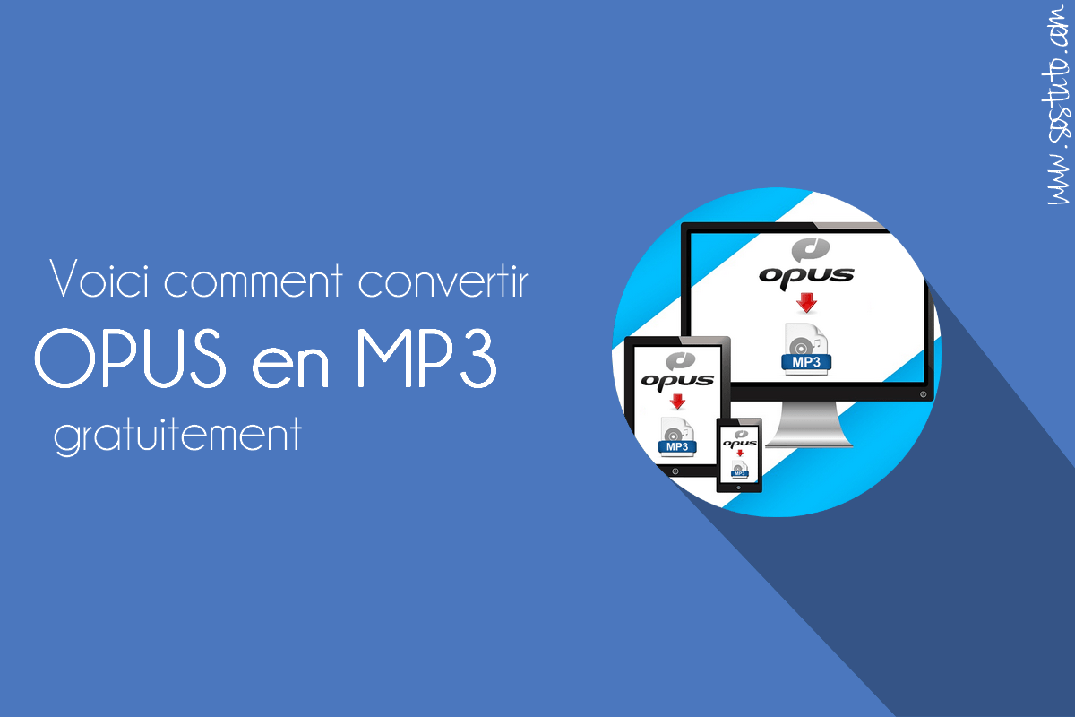 convertir opus en mp3 Comment convertir le fichier audio WhatsApp en MP3 – Convertisseur OPUS en MP3