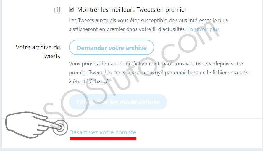desactiver compte twitter Comment Supprimer un Compte Twitter sur Android, iPhone ou PC