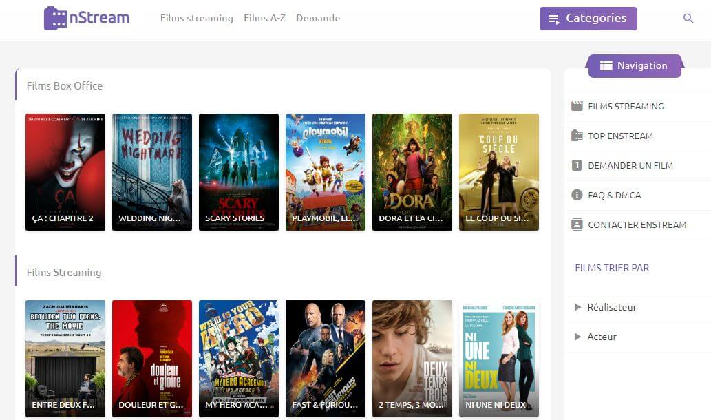 EnStreamSc Les Meilleurs Sites de Streaming Gratuits - Films et Séries en Français