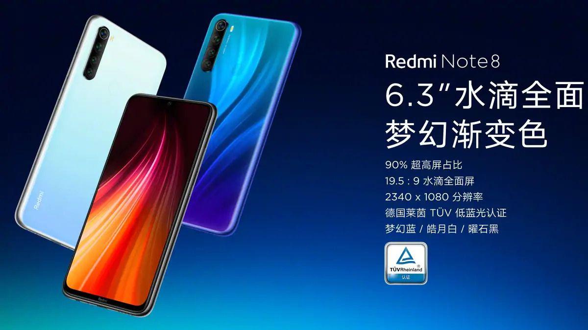 Caracteristiques Redmi Note 8 Weibo Xiaomi Redmi Note 8, Redmi Note 8 Pro : Date de sortie, Fiche Technique, Prix