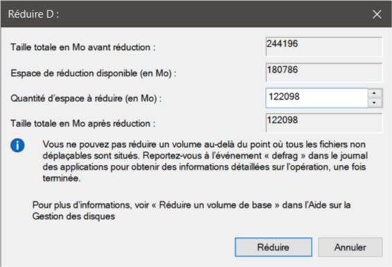 Reduire D Comment Partitionner un Disque Dur sous Windows 10 sans le Formater