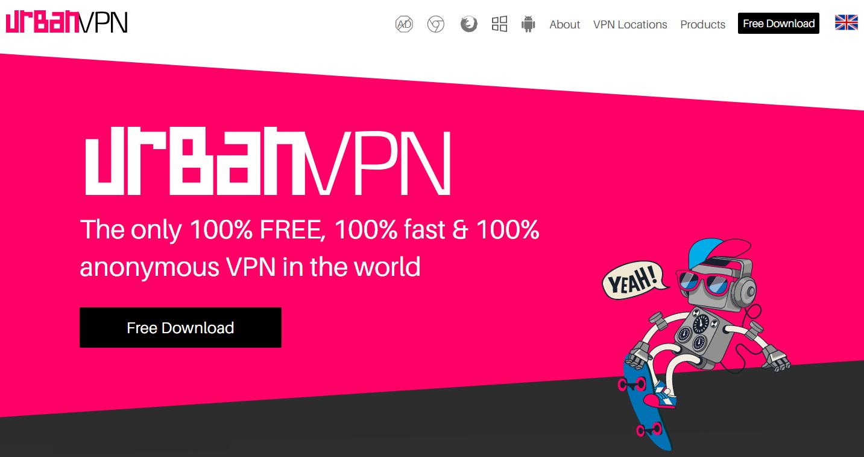URBANVPN Les Meilleurs VPN Gratuits Illimité pour Windows 10 en 2020