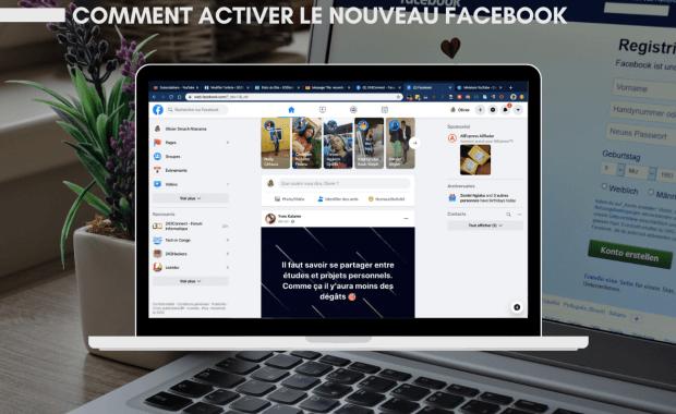 Activer le Nouveau Facebook Comment Activer le Nouveau Design Facebook avec Mode Sombre
