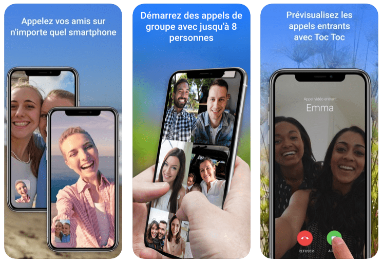 Google Duo Appel Video Top 10 Applications Pour Passer Des Appels Vidéo en Groupe