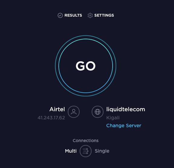 Lancer SpeedTest SpeedTest – Comment Vérifier La Vitesse de sa Connexion Internet sur PC et Mobile