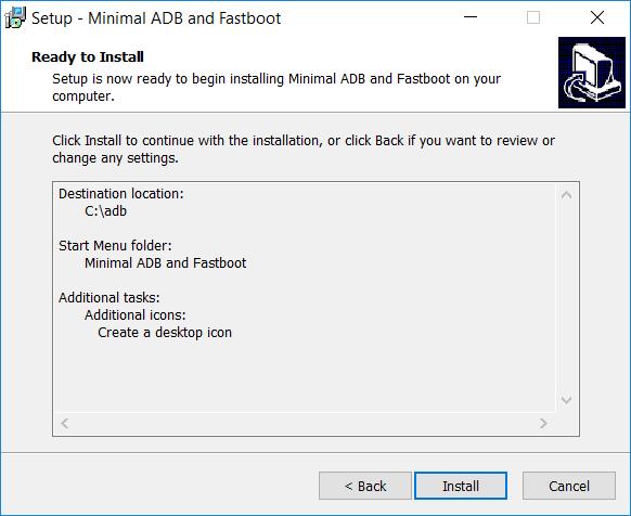 Setup Minimal Adb Fastboot Télécharger Minimal ADB et Fastboot 1.4.3 pour Windows