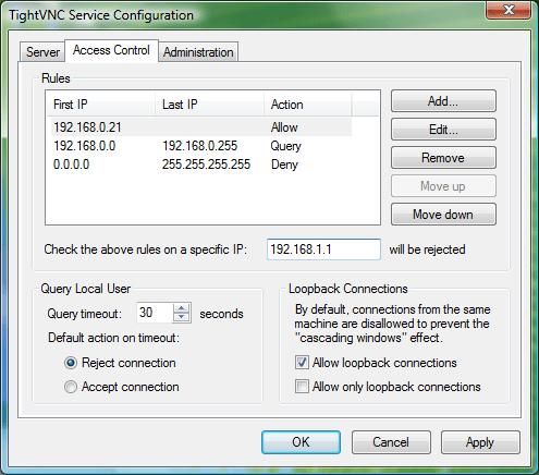 TightVNC Server Alternatives à TeamViewer : 10 Meilleures Logiciels de Bureau à Distance