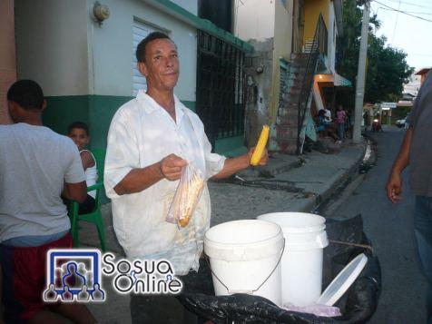 El vendedor de maiz