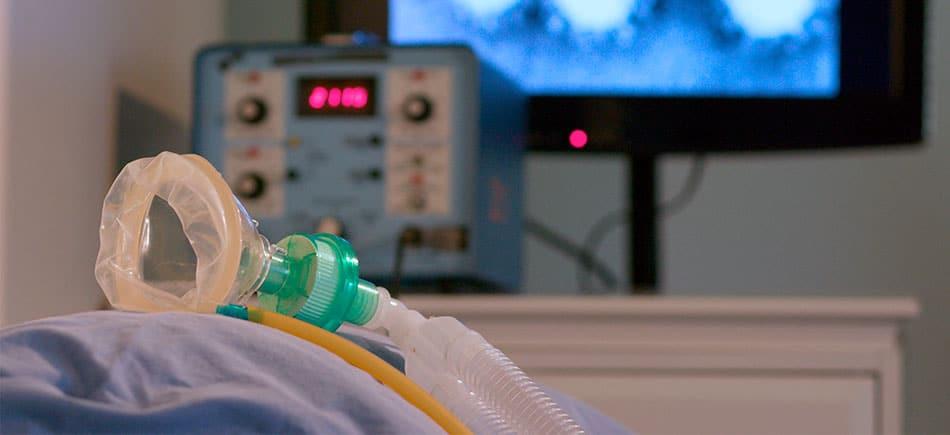 Respiração mecânica no Home Care