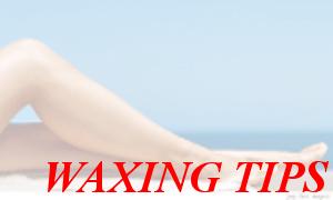 waxing tips