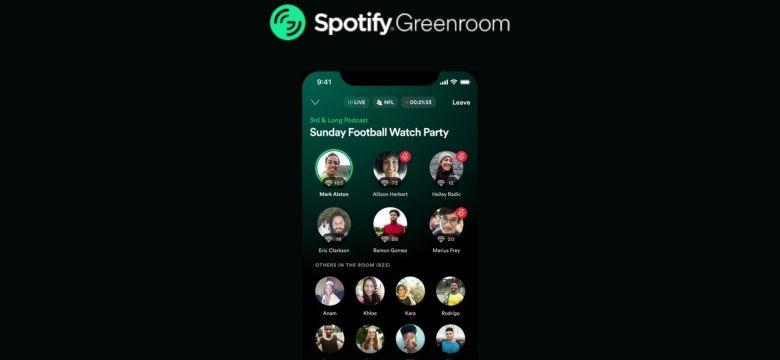 Spotify, Clubhouse Rakibi Greenroom Uygulamasını Yayına Aldı