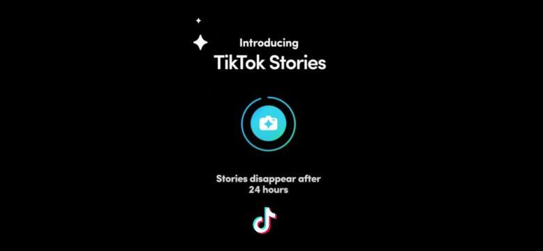 Hikayeler Özelliği TikTok'a Geliyor