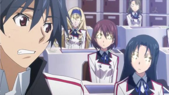 This is not a harem anime, this is real life as a lone boy becomes the ONLY male student in an all-girls school