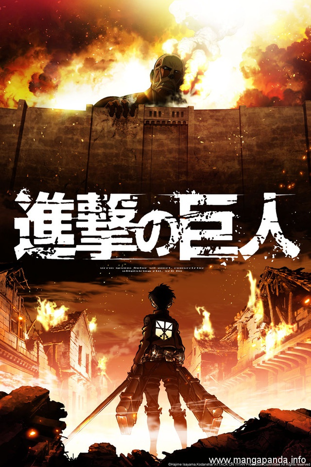 Attack On Titan Anime Cover Recreated With Other Popular Series