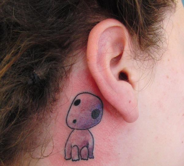 21 Adorable Ghibli-Inspired Tattoos Only A True Ghibli Fan Would Get