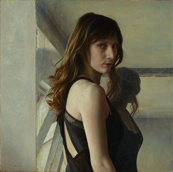 Portrait Paintings by Osamu Obi