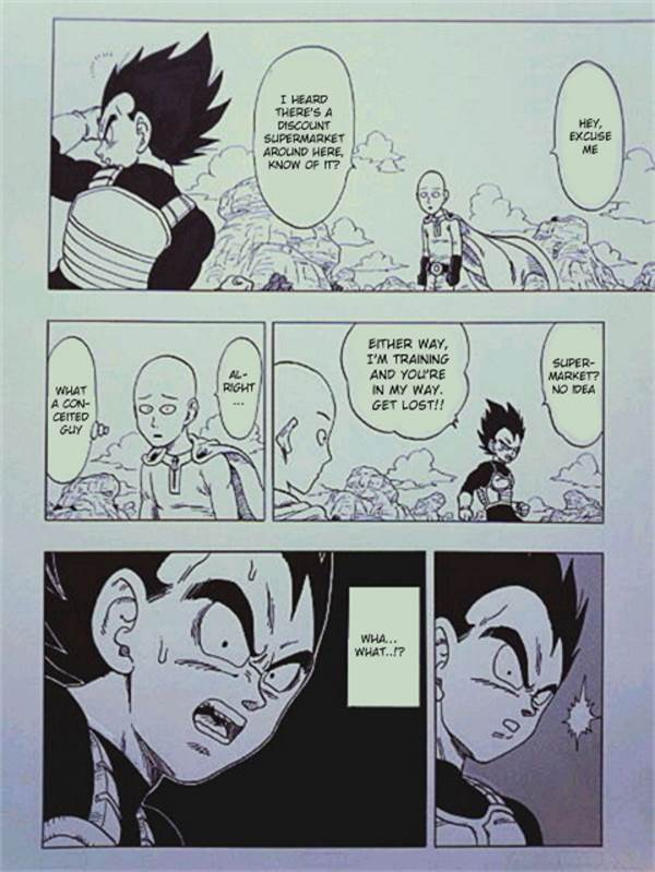One Punch Man X Dragon Ball Z Spin-Off