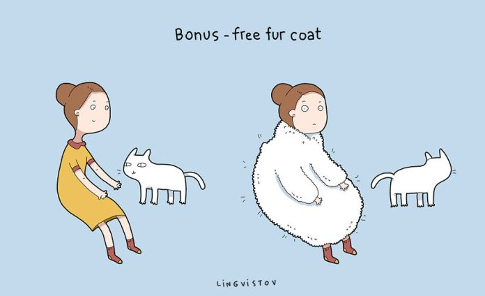 These Hilarious Comics Prove Why Everyone Should Own A Cat