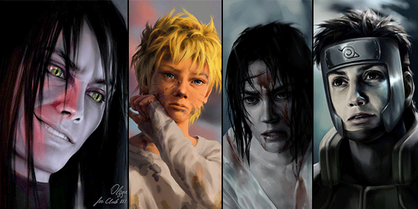 How NARUTO Characters Would Look If They Were REAL