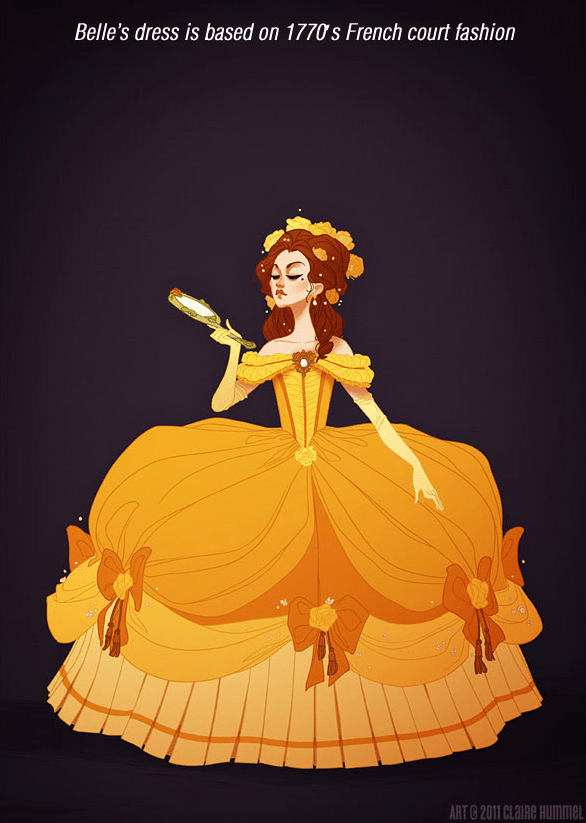 Artist Re-Dressed Disney Princesses According To Accurate Period And Cultural Styles & It's Outstanding
