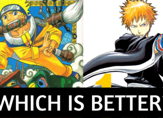 NARUTO VS BLEACH! WHICH IS BETTER