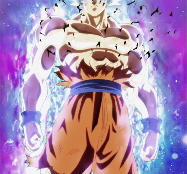 Goku Ultra Instinct Final Form New images with Silver hair