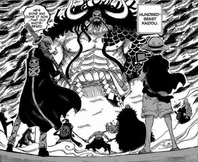 Luffy will only defeat one Yonko before the series finale