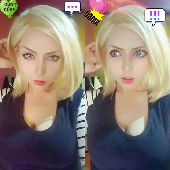 Top 16 Most Amazing Android 18 Cosplay
