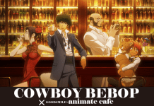 Cowboy Bebop anime themed cafe coming to Tokyo and Osaka next month