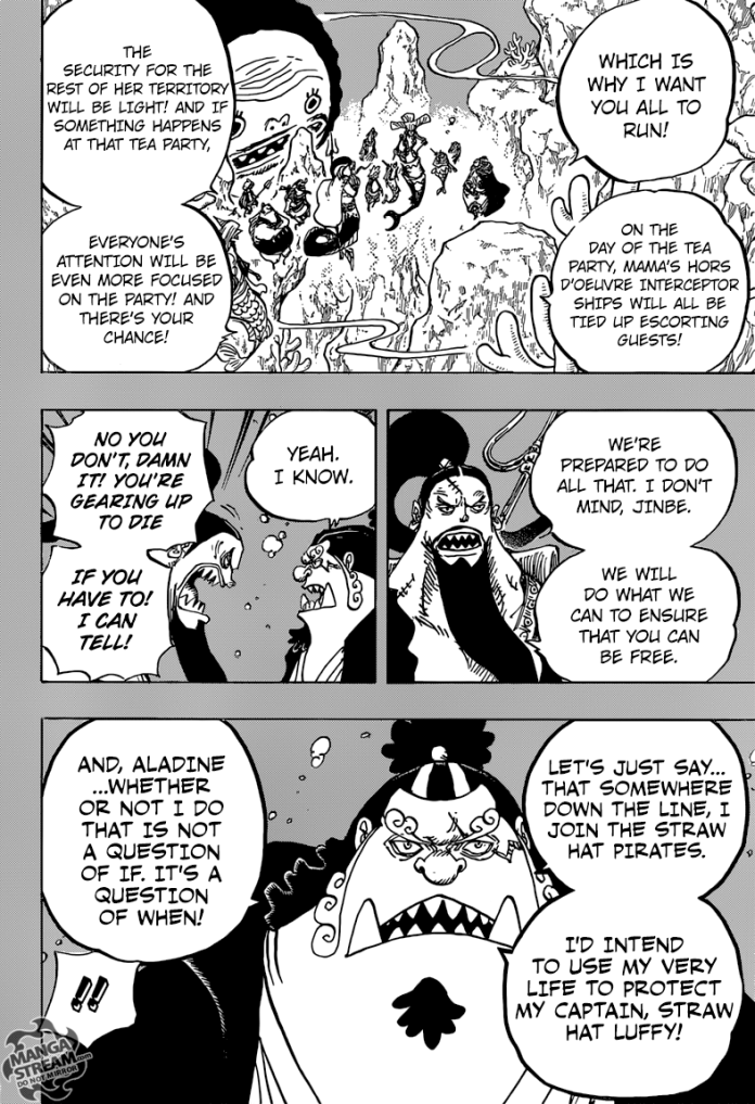 The Real Reason why Jinbe won't die this Arc
