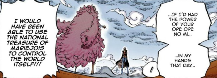 Detail Missed: The Big Straw Hat and Enel