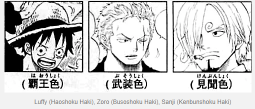 Oda Revealed the Particular Haki Sorts of the Monster Trio