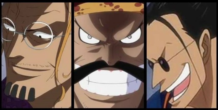 Connections between Sanji and Scopper Gaban of the Roger Pirates