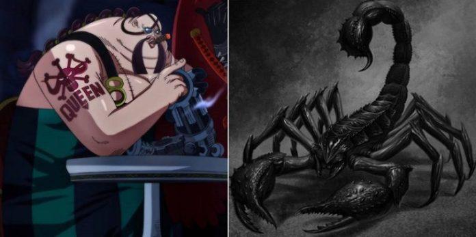 Queen the Plague has a Scorpion Zoan Devil Fruit
