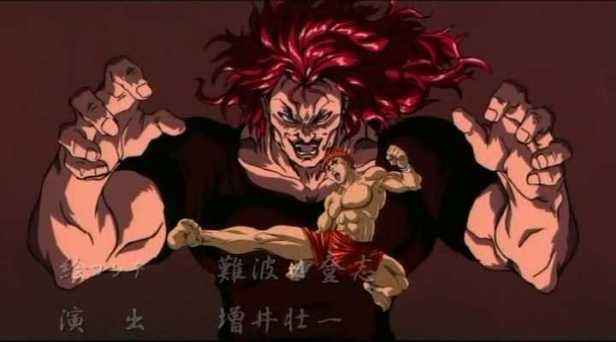 grappler baki anime