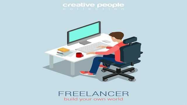 Work on freelancing websites