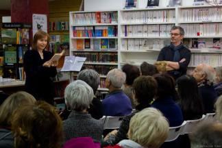 Première Nuit de la Lecture, 14 janvier 2017, Librairie L'autre Rive, Toulouse Phtoto Catherine Ulmet