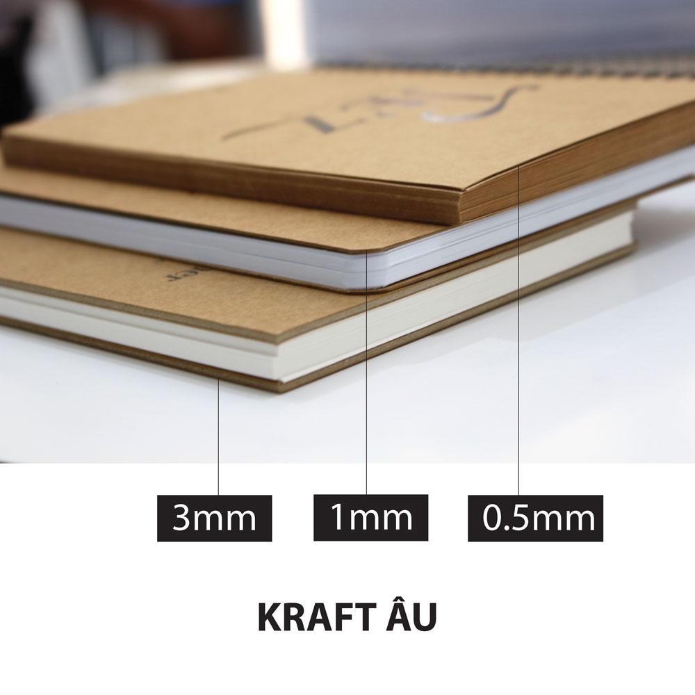 0,4mm - 1 tờ Kraft 300gsm