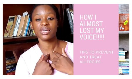 allergies and the voice