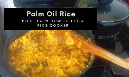 Palm oil rice