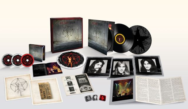 RUSH: Unboxing Super Deluxe Version Of '2112' 40th-Anniversary Edition (Video)