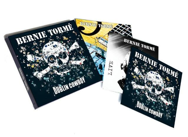 Former GILLAN Guitarist BERNIE TORMÉ To Release 'Dublin Cowboy' Triple Album In April