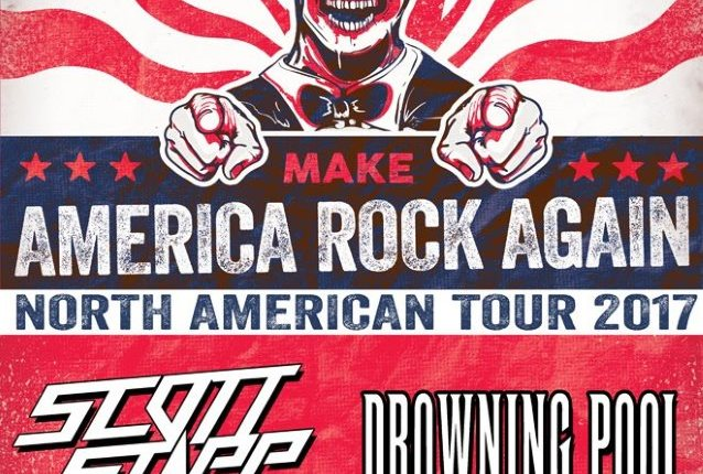 SCOTT STAPP, DROWNING POOL To Headline Second 'Make America Rock Again' Tour