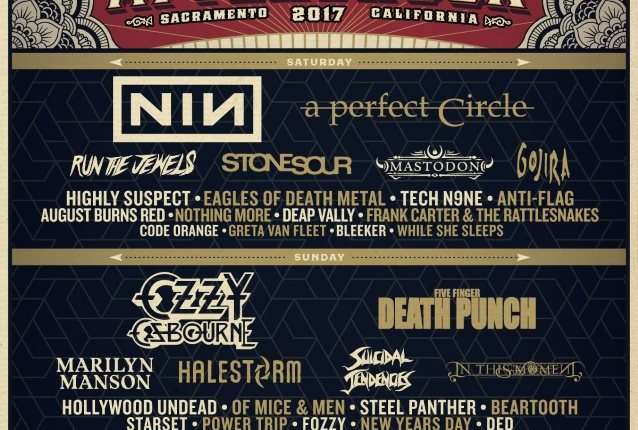 MARILYN MANSON Pulls Out Of AFTERSHOCK Festival